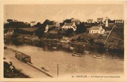 -dpts Div-ref-AN547- Finistère - Douelan - Phare Et Vue D Ensemble - Phares - Villas -  Carte Bon Etat - - Sonstige Gemeinden