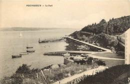 -dpts Div-ref-AN546- Finistère - Port Manec'h Port Manech - Le Port - Carte Bon Etat - - Francia