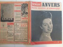 La Semaine 15 Avril 1943 140 Avers Bombardement WW2 Journaux De Guerre 1939 1945 - Books, Magazines, Comics