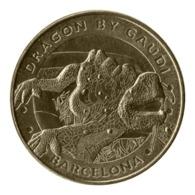 Monnaie De Paris , 2015 , Barcelone , Dragon Antonio Gaudi Regardant Vers La Droite - Monnaie De Paris