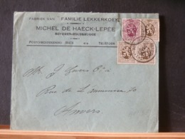 A11/569 LETTRE ROUSBRUGGE  1931 - Belgien