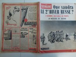 La Semaine 27 Septembre 1942 Hiver Russe WW2 Journaux De Guerre 1939 1945 - Books, Magazines, Comics