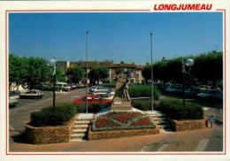 91 - LONGJUMEAU - La Place Charles Steber - Longjumeau