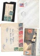 Lot 10 Plis D'Algerie Toutes Periodes - Algeria (1924-1962)