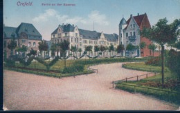 POSTAL ALEMANIA - CREFELD - PARTIE AN DER KASERNE - Krefeld