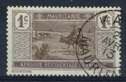 Mauritania, 1c., Camel Drivers, 1913, VFU nice Postmark (KAEDI) - Mauritania (1906-1944)