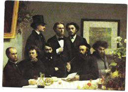 Henri  FANTIN - LATOUR ( 1836 - 1904 )  Coin De Table 1872 .  Neuve . - Paintings