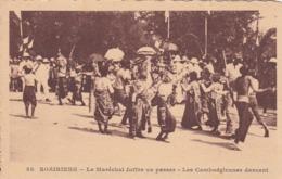 SOAIRIENG - Le Maréchal Joffre Va Passer - Les Cambodgiennes Dansent Paulussen N°58 CAMBODGE Indochine Cambodia - Cambodia