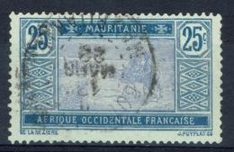 Mauritania, 25c., Camel Drivers, 1913, VFU - Usados