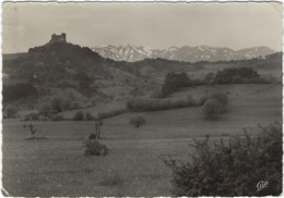 63   Murol  Le Chateau Et Le Massif  Du Sancy - Frankrijk