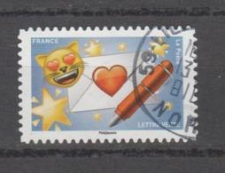 """FRANCE / 2018 / Y&T N° AA 1561 : """"Emoji"""" (Courrier Du Coeur) - Oblitération De 2018. SUPERBE ! - France"""