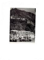 Grande Photographie Souvenir Excursion NICE VALBERG Gorges CIANS DALUIS 25 Aout 1955 Animation Autobus Appareil Photo - Coches