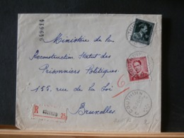 A11/572 LETTRE RECOMM. COUTHUIN  1954 - Belgien