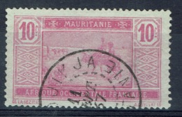 Mauritania, 10c., Camel Drivers, 1922, VFU nice Postmark - Mauritania (1906-1944)