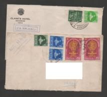 INDE 1962 - 2 Enveloppes Voyagées Vers La France - World United Against Malaria - India