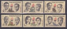 Tchécoslovaquie 1973 1971-76 ** Combattants Contre Le Nazisme Et Le Fascisme - Neufs