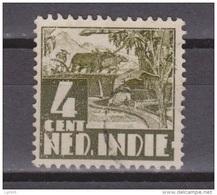 Nederlands Indie Dutch Indies 191 Used ; Karbouw 1934 No Watermark Netherlands Indies PER PIECE - Nederlands-Indië