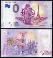 Billet Touristique 0 Euro Souvenir - Paris - FLYVIEW PARIS - EURO