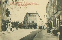 VALENCE - Faubourg Saint-Jacques Entrée Des Casernes De Romans Et De Chabeuil - Passage Du Tramway - Valence