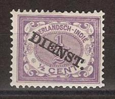 Nederlands Indie D 9 MLH ; DIENST Zegels, Service Stamps Netherlands Indies PER PIECE - Nederlands-Indië