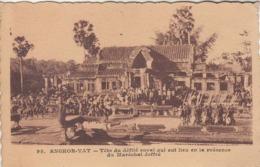 ANGKOR-VAT - Tête Du Défilé Royal, Qui Eut Lieu En Présence Du Maréchal Joffre Cambodge Indochine Paulussen N° 99 Siam - Cambodia