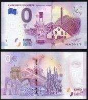 Billet Touristique 0 Euro Souvenir - MADEIRA - ENGENHOS DO NORTE - PORTO DA CRUZ - 970 - EURO