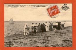 MOULLEAU-ARCACHON - Les Bords De La Plage ,la Pêche Au Filet - 1912 - - Andere Gemeenten
