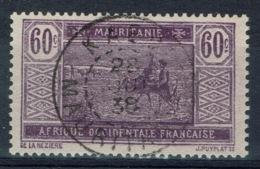 Mauritania, 60c., Camel Drivers, 1922, VFU nice Postmark From KAEDI - Mauritania (1906-1944)