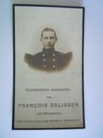 Oorlog Guerre François Delissen ° 1887 Reckheim Soldaat 2e Regiment-grenadiers Gesneuveld Aan Den Yzer 1914 - Andachtsbilder