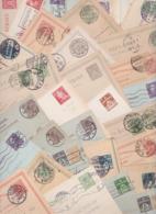 DANEMARK DANMARK DENMARK - Lot De 130 Cartes Entiers Postaux Avant 1950 - Early Postal Stationery Postcards - Brevkort - Entiers Postaux