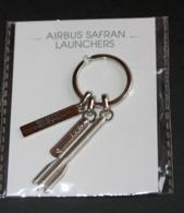 """Très Beau Porte-clés """"Airbus Safran Launchers"""" Avion - Fusée - Aéronautique - Aérospatiale - GPS/Radios"""