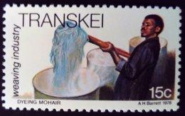 Transkei 1978 Ouvrier Worker Laine Wool Yvert 39 ** MNH - Transkei