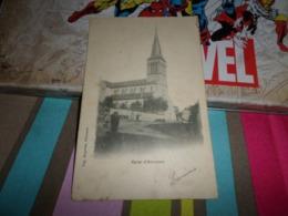 Carte Postale Haute Saone Hericourt  Eglise Petite Animation - France