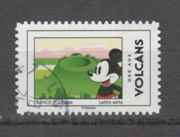 "FRANCE / 2018 / Y&T N° AA 1589 : ""Mickey Et La France"" (Volcans D'Auvergne) - Choisi - Cachet Rond - France"