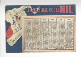 CAPIELLO TABAC JE NE FUME QUE LE NIL CALENDRIER 1947 CALENDAR /FREE SHIPPING R - Calendars