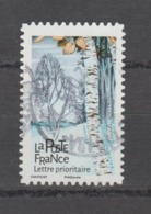 "FRANCE / 2018 / Y&T N° AA 1605 : ""Arbres"" (Bouleau) - Choisi - Cachet Rond - France"