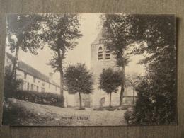 Cpa Beersel (Hal Vilvorde) - L'église - Edit. F. De Clerck - Vilvoorde