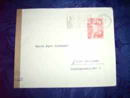 Sowjetische Zone (SBZ) Zensur - Brief 21.04.1949 / Görlitz 1 Nach Solingen / Siehe Fotos - Sowjetische Zone (SBZ)