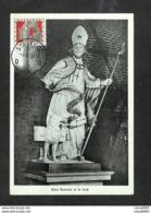 BELGIQUE - BELGIE - Carte MAXIMUM 1958 - STAVELOT - Saint Remacle Et Le Loup - Maximum Cards