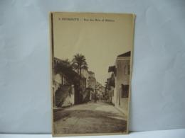 BEYROUTH BEIRUT  LIBAN LEBANON RUE DES ARTS ET METIERS CPA 1926 - Libanon