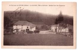 Environs De Cours - La Buche - Rendez-vous Des Chasseurs - édit. Combier Macon 19 + Verso - France