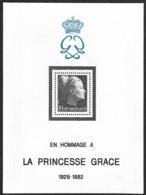 MONACO  1983 -   BF 24   - Hommage à La Princesse Grace - Numeroté Rouge Au Dos-  Cote 12.50 E - Blocchi