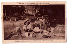 5976 - Birmanie ( Myanmar ) - Asile Des Vieilles à Mandalay , Toilette Et Repas - Soeurs Saint-Joseph De L'Apparition - - Myanmar (Birma)
