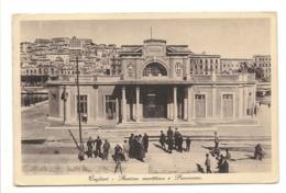 CAGLIARI - STAZIONE MARITTIMA E PANORAMA - Cagliari