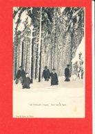 88 LE THILLOT Cpa Animée Sous Bois En Hiver         Photo Notter - Le Thillot