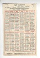 THES DU TONKIN PHU THO CHAFFANJON CALENDRIER 1913 CALENDAR /FREE SHIPPING R - Calendarios