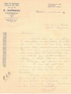 EN 1931 CAPDENAC AVEYRON ISSANDOU NOIX CERNEAUX CEPES FRUITS FACTURE PUBLICITAIRE ILLUSTREE DOCUMENT COMMERCIAL LEZIGNAN - Francia