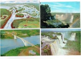 Lot 5 Cpm -  Brésil - BRASIL -  Chutes D'Iguazú - Cataratas Do Iguaçu - - Brasile