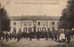 5128- LANDIVISIAU - Pendant La Guerre Ecole Communale - Landivisiau