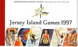 JERSEY MH 10 POSTFRISCH(MINT) ISLAND GAMES 1997 - Bogenschiessen